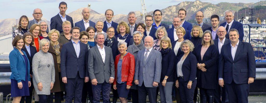 De ansatte i Håmsø Patentbyrå høsten 2018.